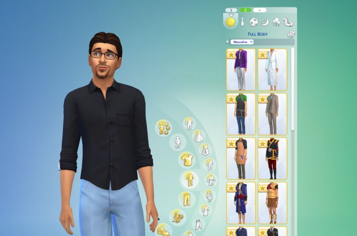 sims 4 can you change work outfit