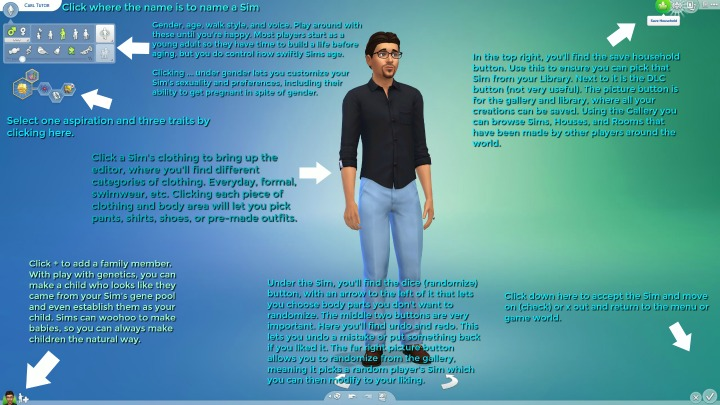 How to Make a Sim and Household The Sims 4
