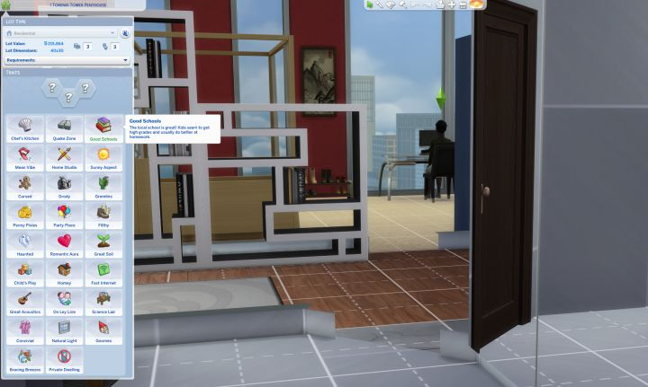 The Sims 4 How To Pick Your Own Lot Traits For Apartment Or House