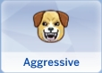 Aggressive Trait in The Sims 4 Cats and Dogs Expansion Pack