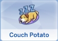 Couch Potato Trait in The Sims 4 Cats and Dogs Expansion Pack