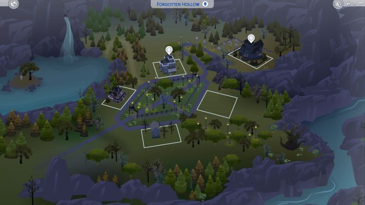 The Sims 4 Vampires Plant Locations