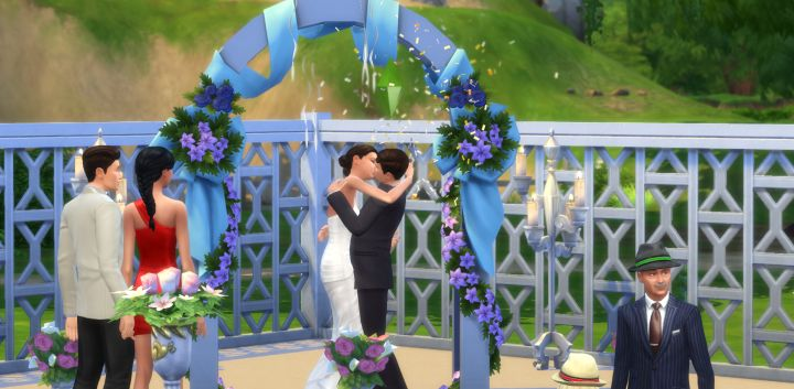 Getting Engaged Eloping And Gold In Weddings