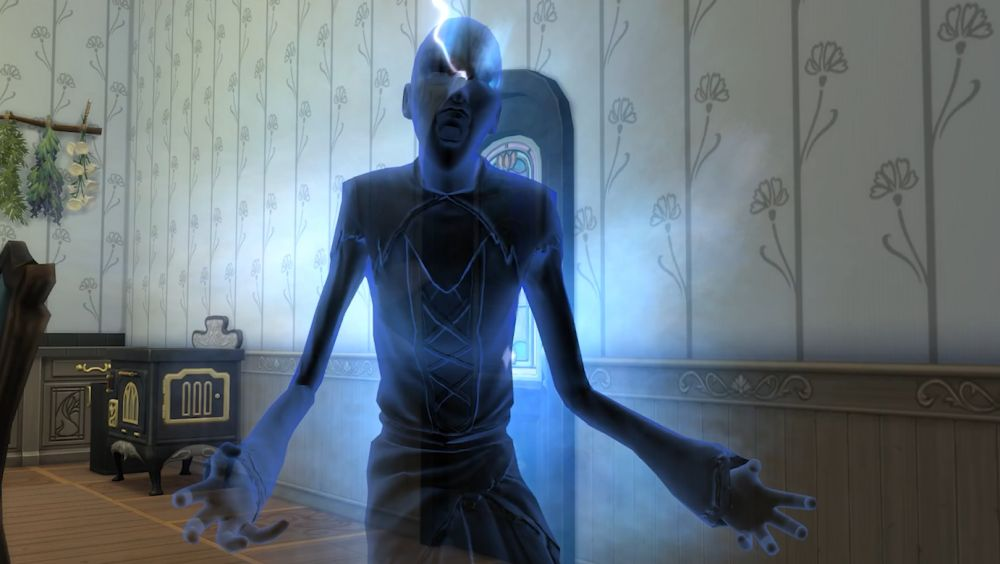 The Night Stalker in The Sims 4 Realm of Magic