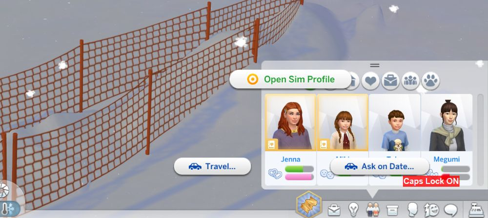 How to see the Sim Profile in Sims 4