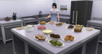 The Sims 4 Get to Work Baking Skill