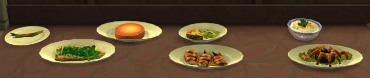 The Sims 4 Cooking: Gourmet Recipes