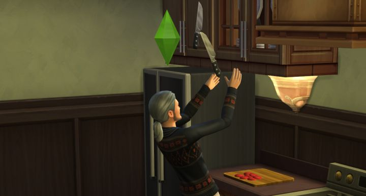 The Sims 4 Cooking: Trick Moves