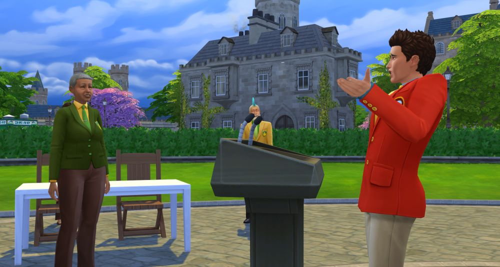 The Research and Debate Skill in The Sims 4 Discover University