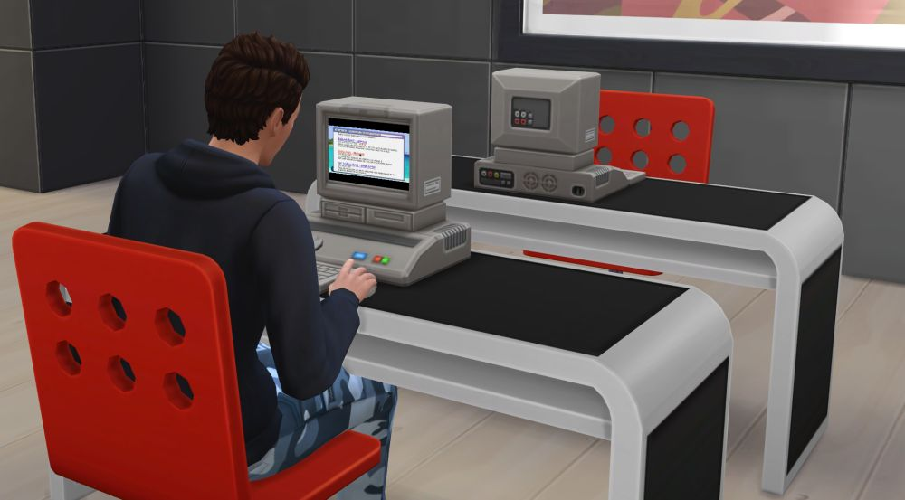 The research archive machine The Research and Debate Skill in The Sims 4 Discover University