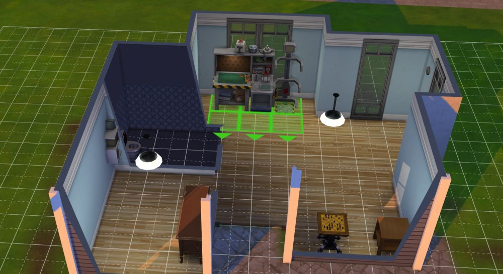 Use the robotics workstation to level the robotics skill in The Sims 4 Discover University DLC