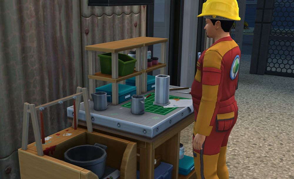 The new Candle Making Station in The Sims 4 Eco Lifestyle Expansion