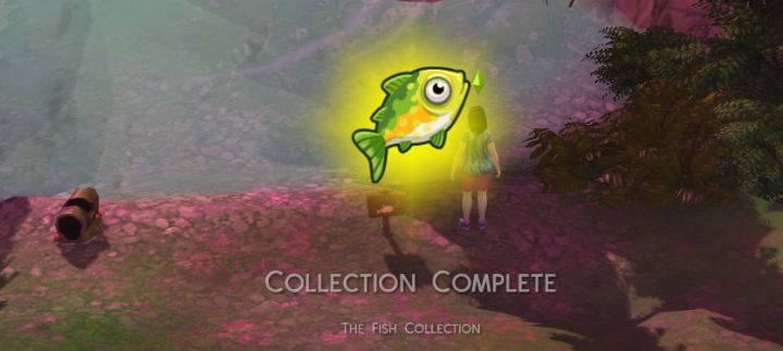 Fish Collection in The Sims 4