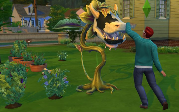 The Sims 4 Cow Plant