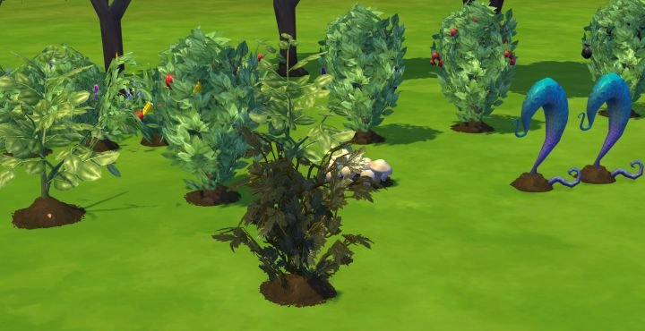 The Sims 4 Death Flower made from grafting