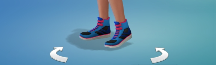 Dancing Retro Sneakers unlock at level of of the dance skill in Get Together