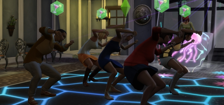 Group Dance in Get Together