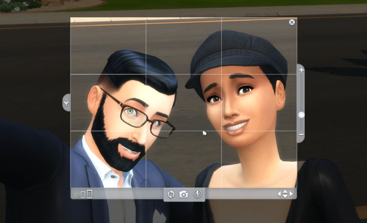 Sims 4 Photography in Get to Work
