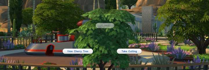 Finding a Cherry Tree will help you make Pomegranate