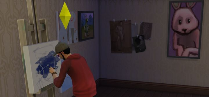 the sims 4 painting skill