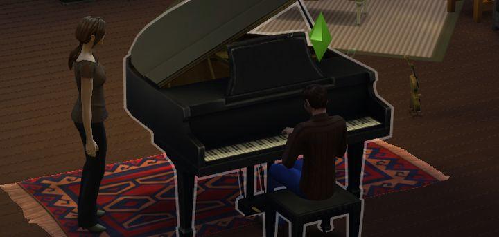 The Sims 4 Piano Skill