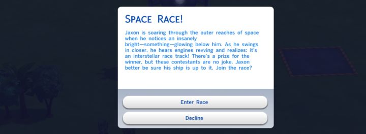 The Sims 4 Rocket Science - Missions are like choose your own adventure texts