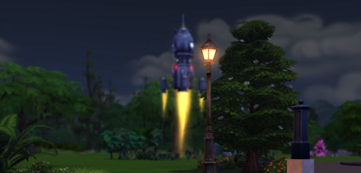 The Sims 4 Rocket Science Skill