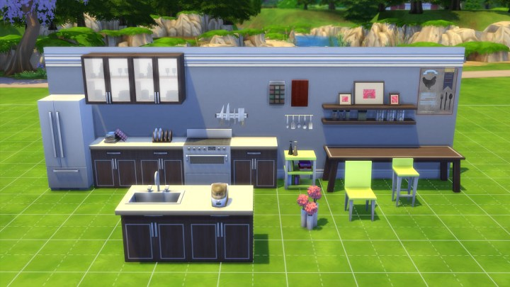 New Objects for the Kitchen in The Sims 4
