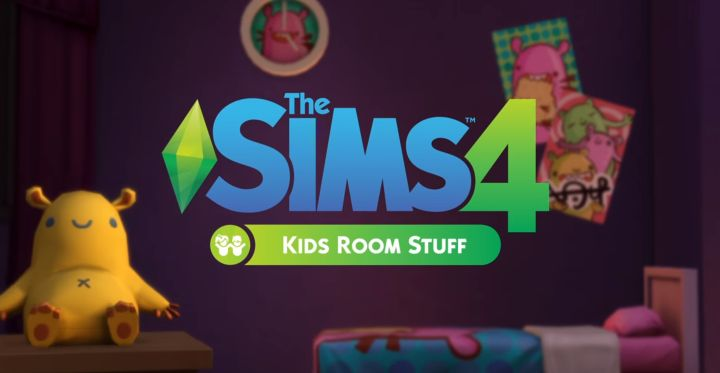The Sims 4 Kids Room Stuff Pack Logo