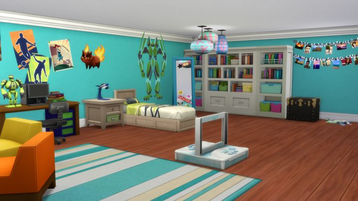 The Sims 4 Kids Room Stuff - new objects in the stuff pack