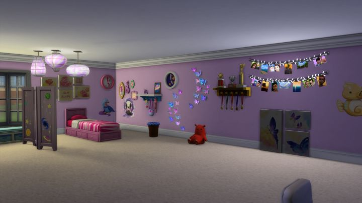The Sims 4 Kids Room Stuff - all new stuff in the pack