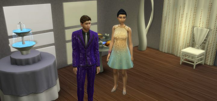 New Items and Clothing in the Luxury Party Stuff Pack