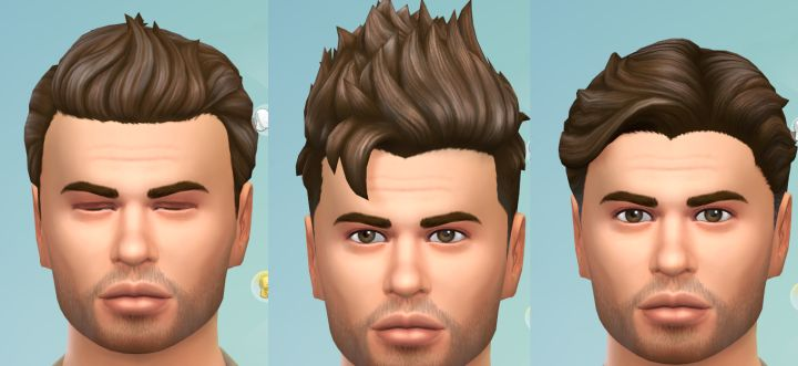 Male Hair in the Luxury Party Stuff Pack