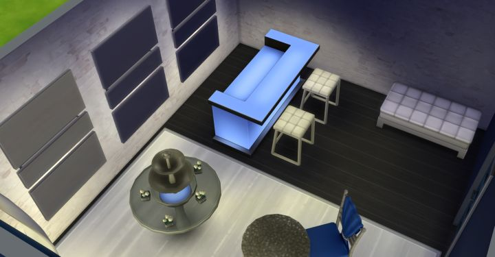 Indoor Styled room in the Luxury Party Stuff Pack