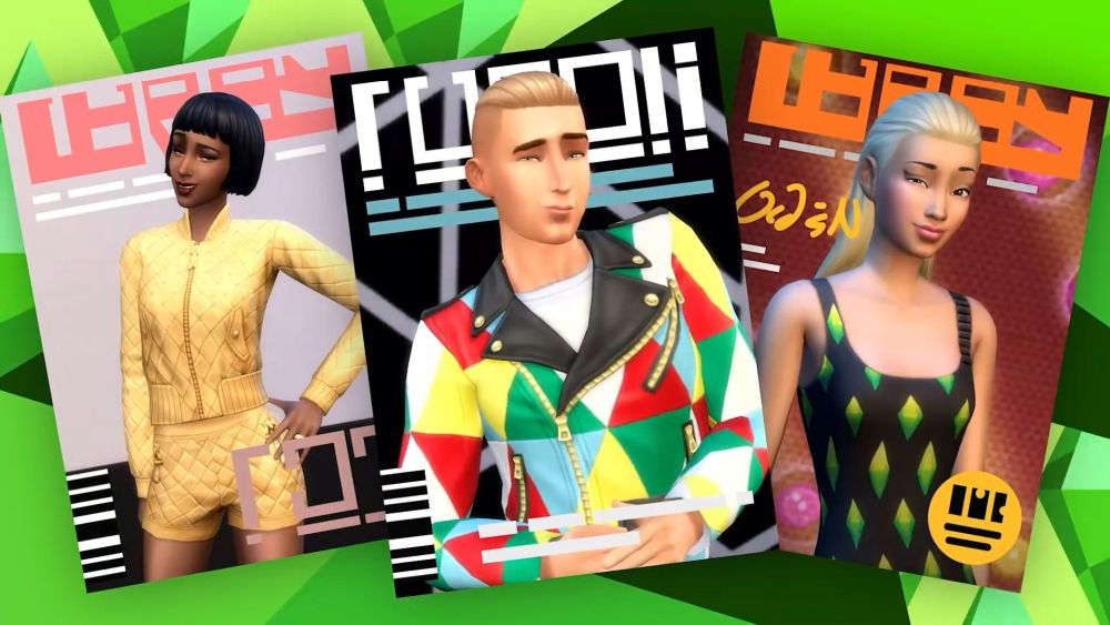 Coming August 13: The Sims 4 Moschino Stuff Pack