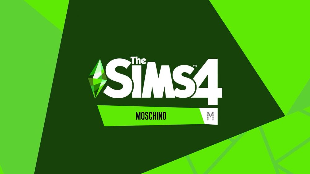 The Sims 4 Moschino Stuff Pack Logo and Release Date