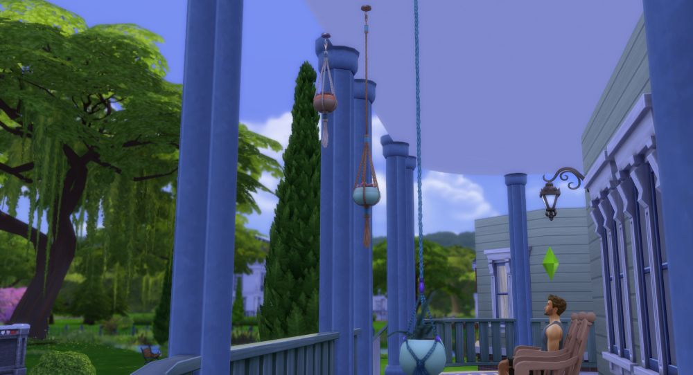 unlock hanging plants in Sims 4