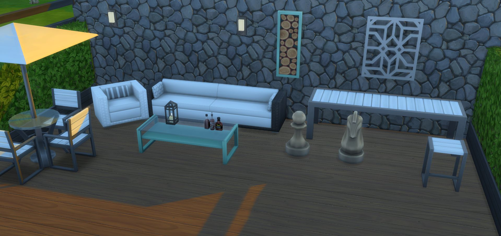 New Objects In The Perfect Patio Stuff Pack