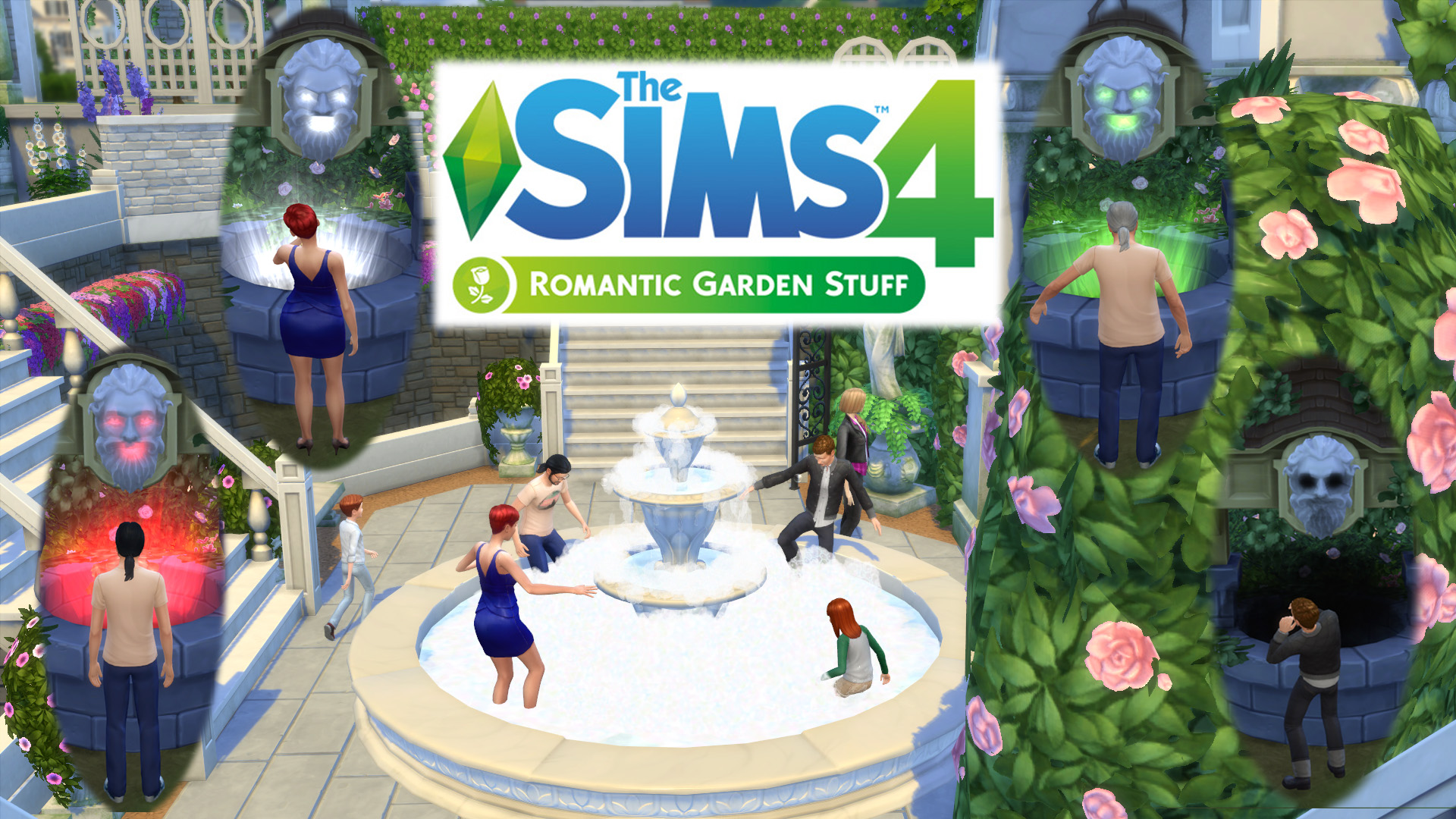 The Sims 4 Romantic Garden Stuff Pack Is The Sixth Stuff Pack Released For  The Sims 4.