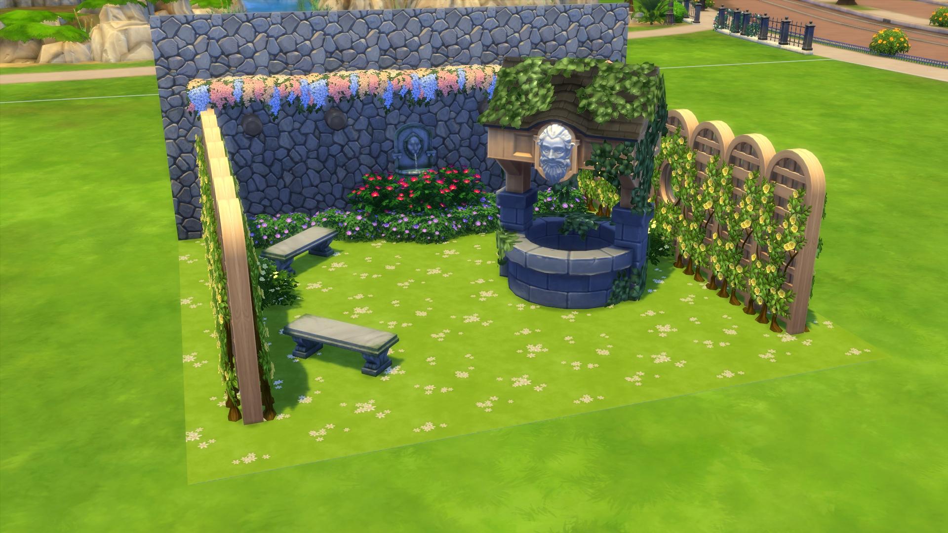 Garden Wishing Well Stone - Garden Designs
