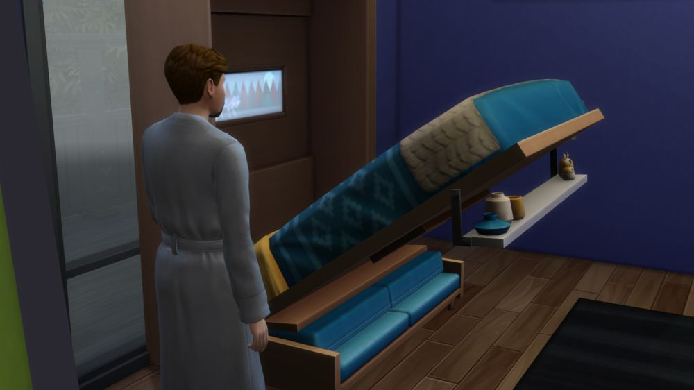 The Sims 4 Tiny Living Stuff - A Murphy Bed