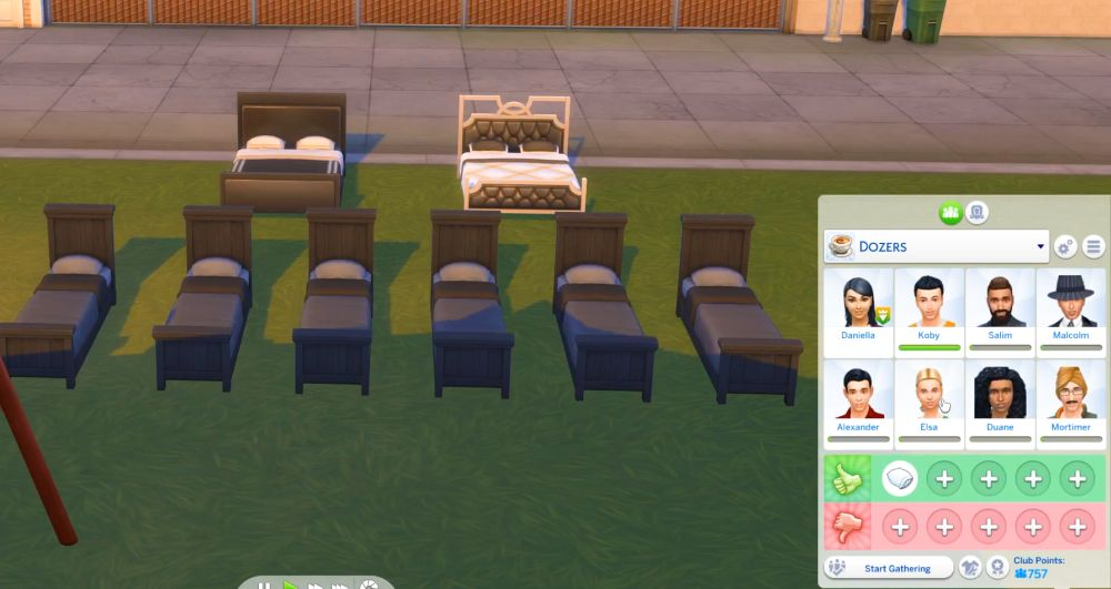 The Sims 4 Super Sim - Clubs are powerful for super sims