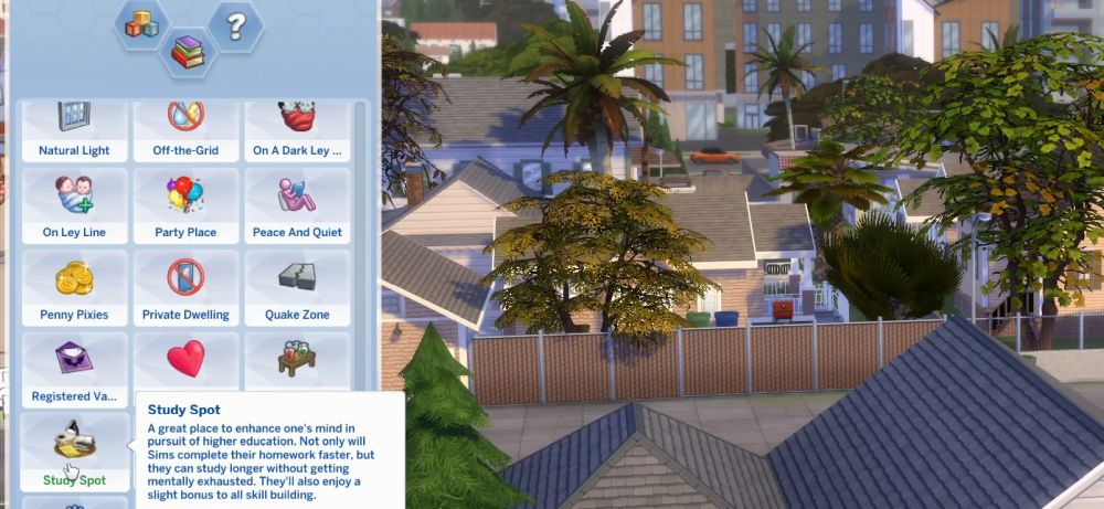 The Sims 4 Super Sim - Lot traits can provide another boost.