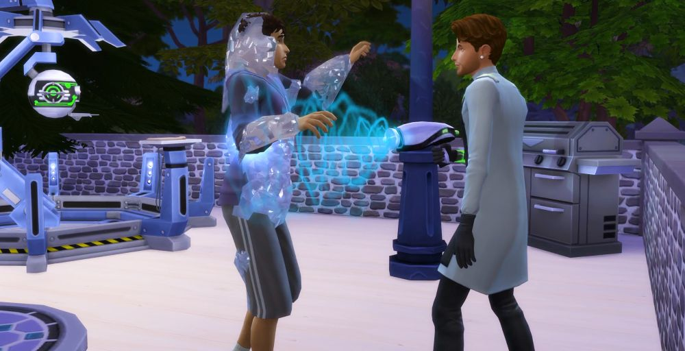 The Sims 4 Super Sim - should you be a scientist