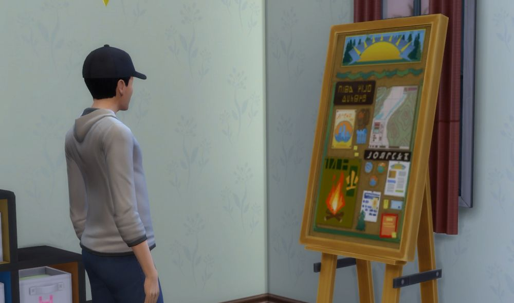 The Sims 4 Super Sim - getting all the badges in scouting