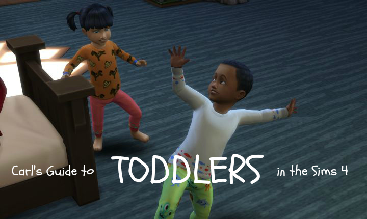 Toddlers in The Sims 4