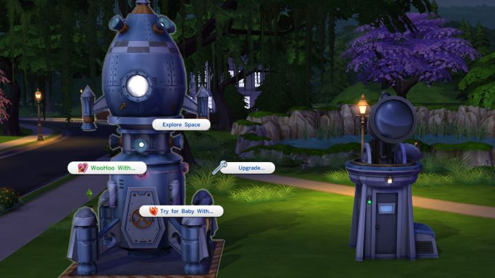 The Sims 4 Woohoo In The Rocketship And Observatory Is Possible