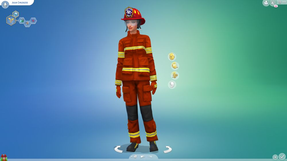 Firefighters have been added to The Sims 4