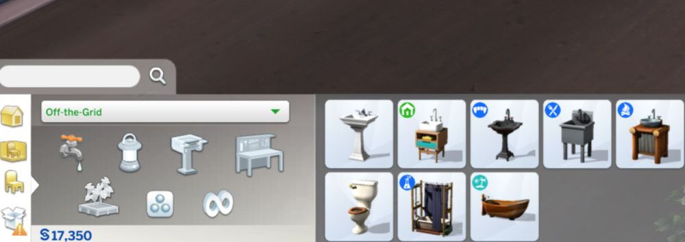Off the grid updates in The Sims 4