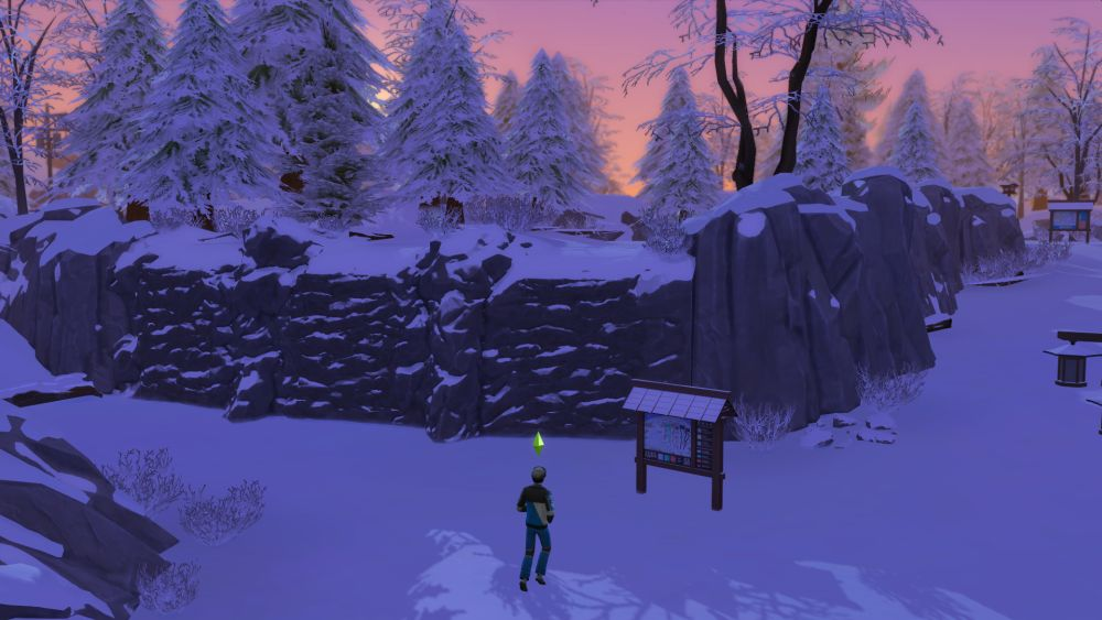 How to start rock climbing in The Sims 4 Snowy Escape